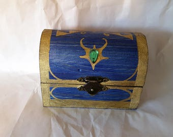 Musical Zelda Themed Ring Box--The Small Boss Key Chest from The Legend of Zelda: Ocarina of Time and Majora's Mask