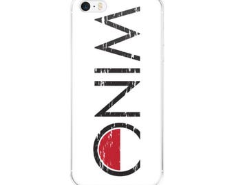 Vintage Wino Logo iPhone Cell Phone Case - 5/5s/Se, 6/6s, 6/6s Plus or 7/7 Plus