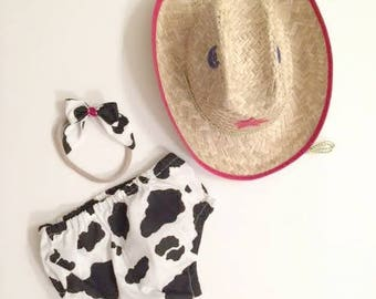 Cowgirl Diaper Cover, Cowgirl Bloomers, County Cowgirl, Diaper Covers, Bloomers,