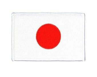 Japan National Flag Iron-On Patch DIY Japanese Culture Craft Decoration Applique