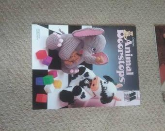 Crochet Patterns Children's Animals Lot 1