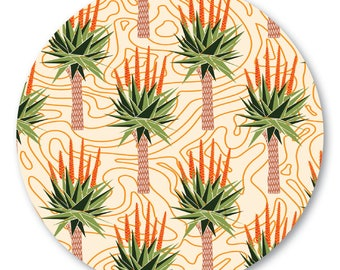 African Aloes Pot Stand/Trivet