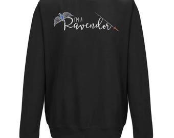 I'm A RAVENDOR HOGWARTS HOUSE Mash Up | Unisex Jumper | Harry Potter Gift