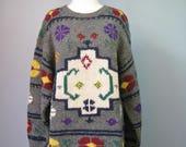 Colorful Shetland Wool Sw...