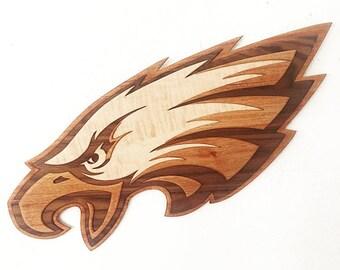 Eagles Logo Sculpture Wall Art