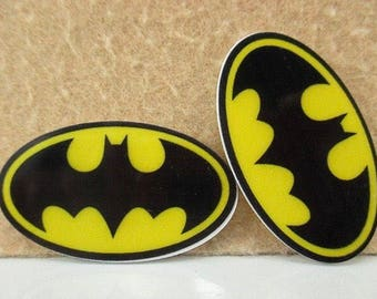 Batman Cabochon Flatback Resin 44*32mm