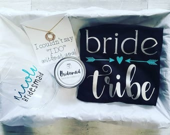 Bridesmaid Gift Box!  Personalize however you'd like!
