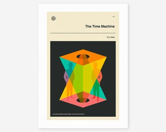 THE TIME MACHINE (Giclée Fine Art Print/Photo Print/Poster Print)