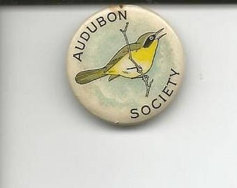 Antique Audubon Society Pin