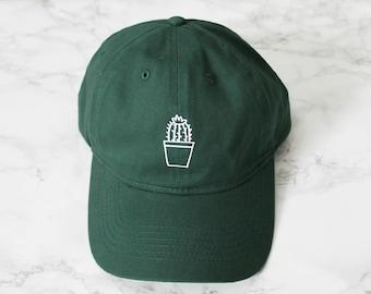 Cactus Pot Baseball Hat