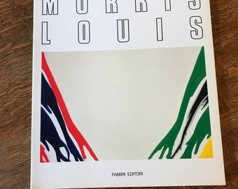 Morris Louis, Art Exhibition Catalog, Milan, Italy, American Painter, Vintage Art Catalog, Vintage Art Book, Book on Painting