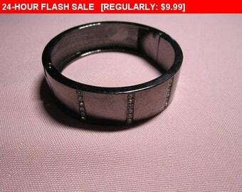 vintage rhinestone bracelet, fashion bracelet, vintage bracelet
