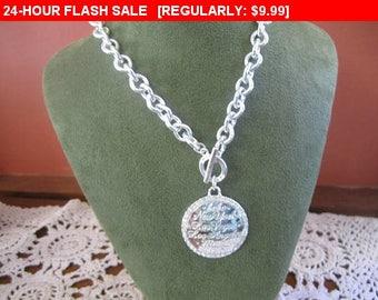 Vintage BeBe pendant necklace, estate jewelry