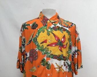 Funky Sea Shells Hawaiian Shirt