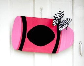 Teacher Door Hanger, Crayon Door Hanger, Classroom Door Hanger, Teacher Appreciation, Classroom Sign, Teacher Gift