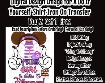 Going To Disney Mickey Ears Printable Iron on Transfer Mouse Head Shirt – DIY Disney Shirt Matching Family Shirts Minnie Ears