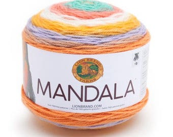 lion brand mandala pixie