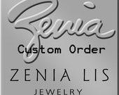 Custom Peruvian Opal Ring First Payment