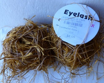 Sale Brass 73 Eyelash  by Trendsetter Yarns