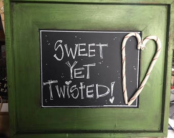 Sweet, yet twisted!