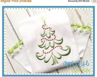 50% Off 2517 Christmas Tree Beaded Embroidery Design INSTANT DOWNLOAD in digital format for embroidery machine by Applique Corner