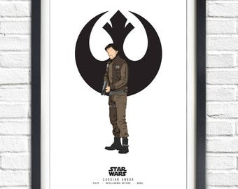 Star Wars - Solo Series - Cassian Andor - 19x13 Poster