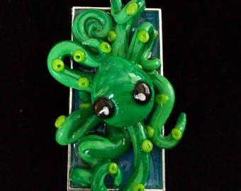 Watermelon Green Octopus
