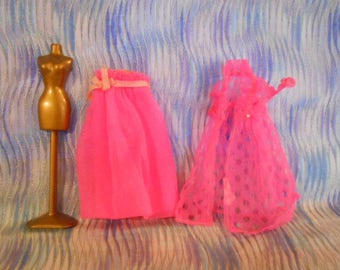 1970 Topper Doll NightGown-Robe-Stand