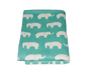 Organic Cotton - Ellie Pool Baby Swaddling Blanket