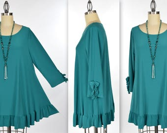 Dare2bstylish, Sweetheart Tunic, Simple and Elegant, Designer Tunic, Baby doll tunic, Plus size tunic Small to 3XL.