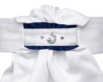 Stock Tie- Navy