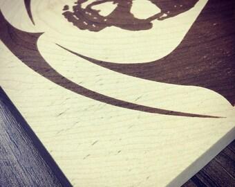 Decorative skull print