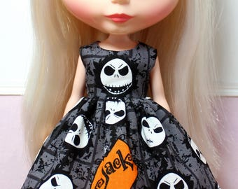 BLYTHE doll Its my party dress - Nightmare Before Christmas Jack