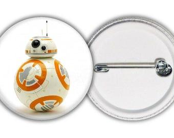 Star Wars - BB-8 droid badge