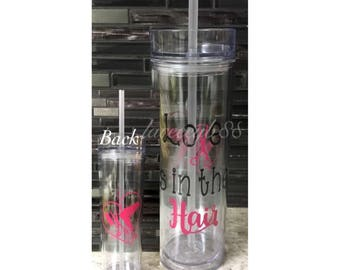 Love Is In The Hair Tumbler, Love Is In The Hair Cup, Hairstylist Tumbler, Hairstylist Gifts, Hairstylist Cup, Hair Dresser Gifts, Stylist