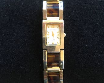 Harve Benard Tortoise Shell Watch