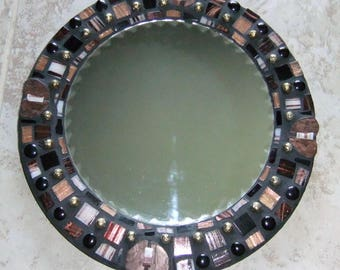 Hand-crafted Mosaic Mirror