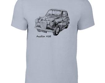 Austin A35 classic car t-shirt