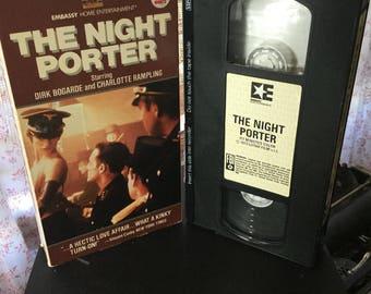 The Night Porter vhs movie 1973