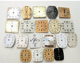 ON SALE Small Watch Faces - set of 20 - c102