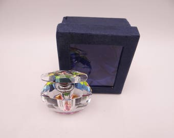 Stunning Vintage Prism Diamond Cut Glass Atomizer / Perfume Bottle - 2 Different Styles Available - Gift for Her
