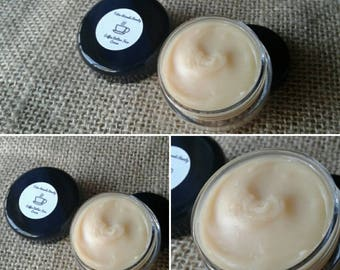 Coffee Butter Face Cream - Natural Anti-Aging Skin Toning Cream - Made with Coffee Butter & Shea Butter