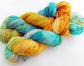 Handdyed SockYarn, 75 Wool, 25 Nylon 100g 3.5 oz. Nr. 781