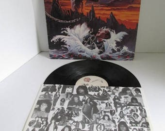 On Sale DIO Album DIO Holy Diver Album Cover 1983 Warner Bros Records 80s Music 80s Heavy Metal Bands Dio Vinyl LP