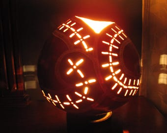 Open top Gourd Lamp