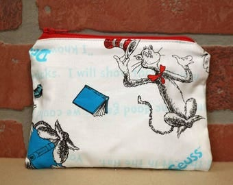 One Snack Sack, Reusable Lunch Bags, Waste-Free Lunch, Machine Washable, Dr Seuss, Back to School, School Lunch, item #SS86