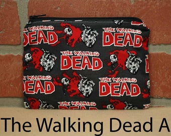 One Snack Sack, The Walking Dead, Reusable Lunch Bags, Waste-Free Lunch, Machine Washable, Back to School, School Lunch, item #SS56