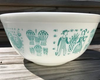 Vintage Pyrex Amish Butterprint Mixing Bowl 403
