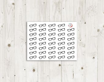 Reading Glasses Stickers - ECLP Stickers