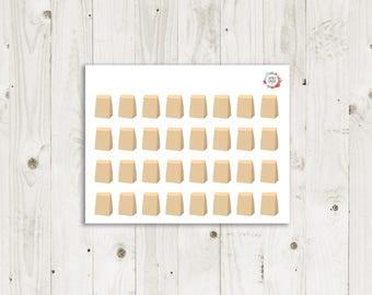 Lunch Bag Stickers  - ECLP Sticker
